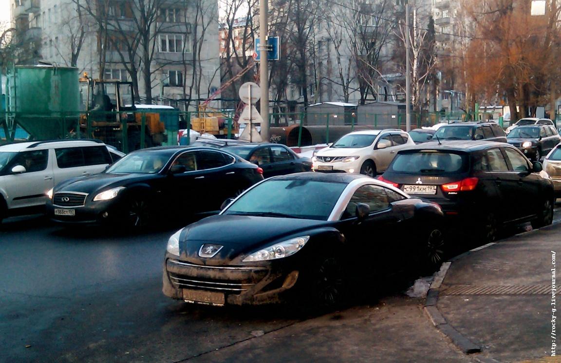 Автофотки - Я паркуюсь как мудак.