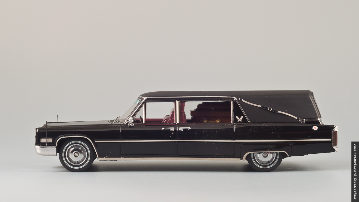 Cadillac Sayers & Scovill Landau Hearse