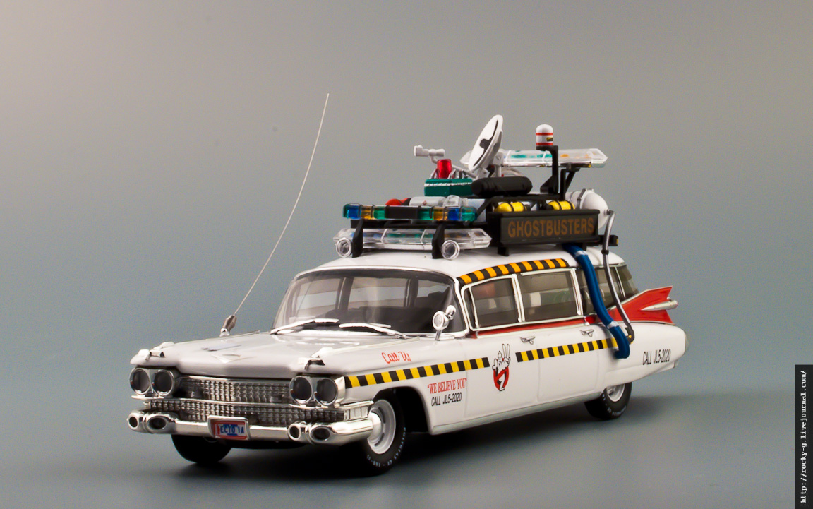 Cadillac Miller-Meteor 1959 «Ghostbusters» Cadillac Ecto 1A