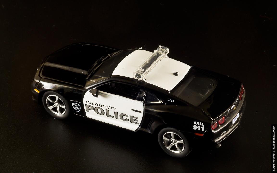 Chevrolet Camaro SS 2011 - Полиция Халтом-сити, США