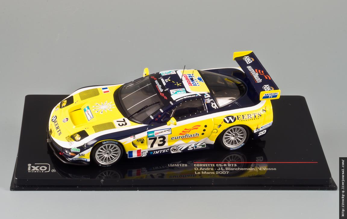 Chevrolet Corvette C5-R Le Mans 2007