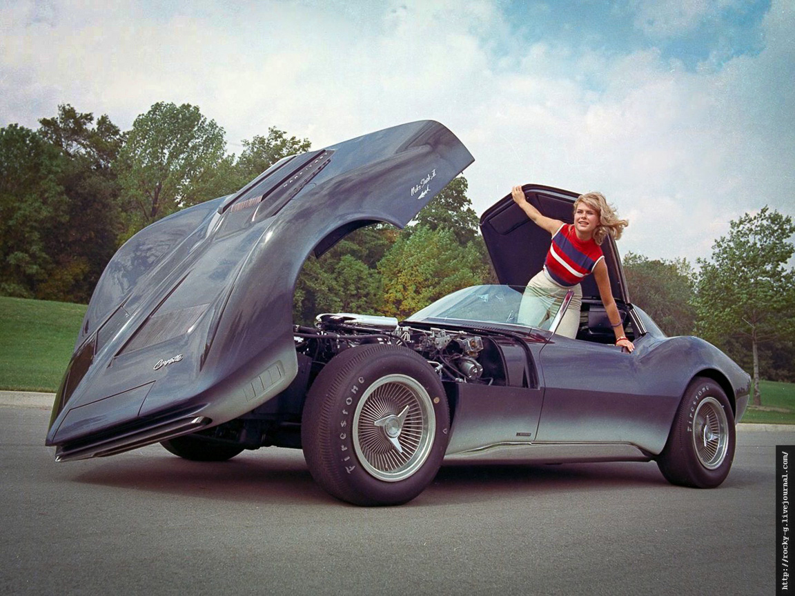 "Chevrolet Corvette Mako Shark II ""1965"