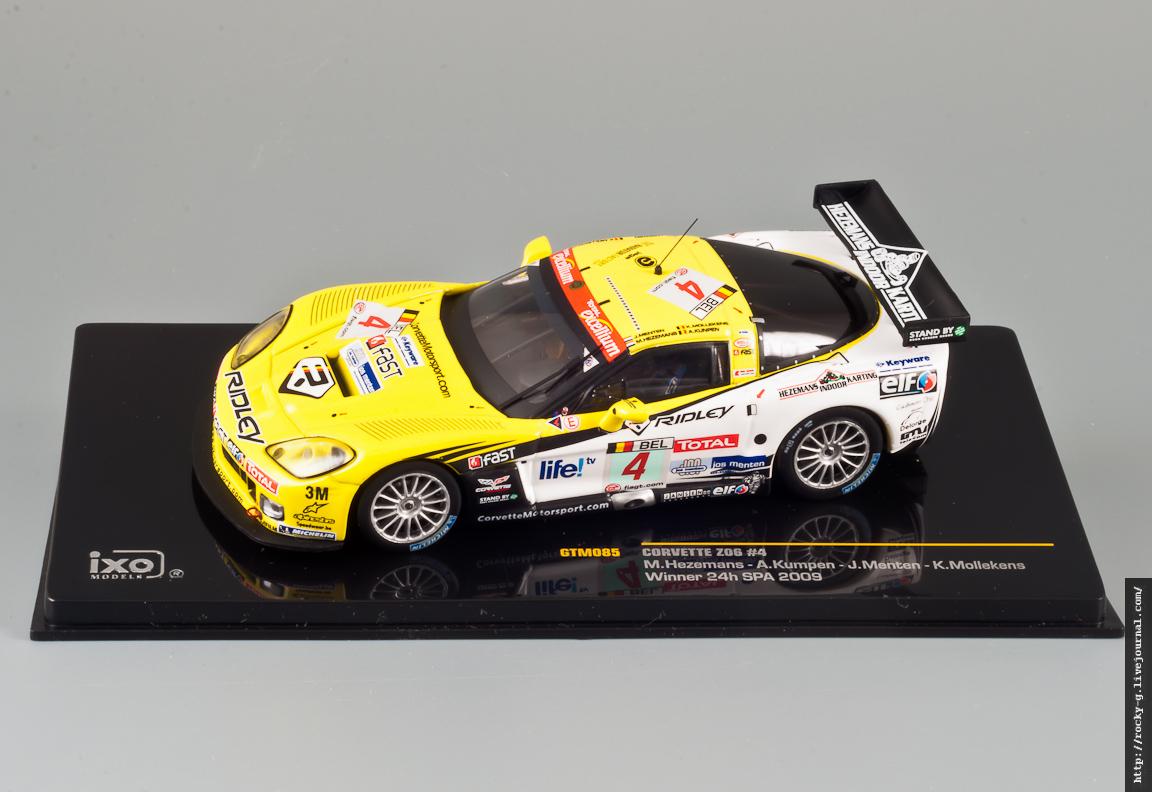 Corvette Z06 SPA 2009