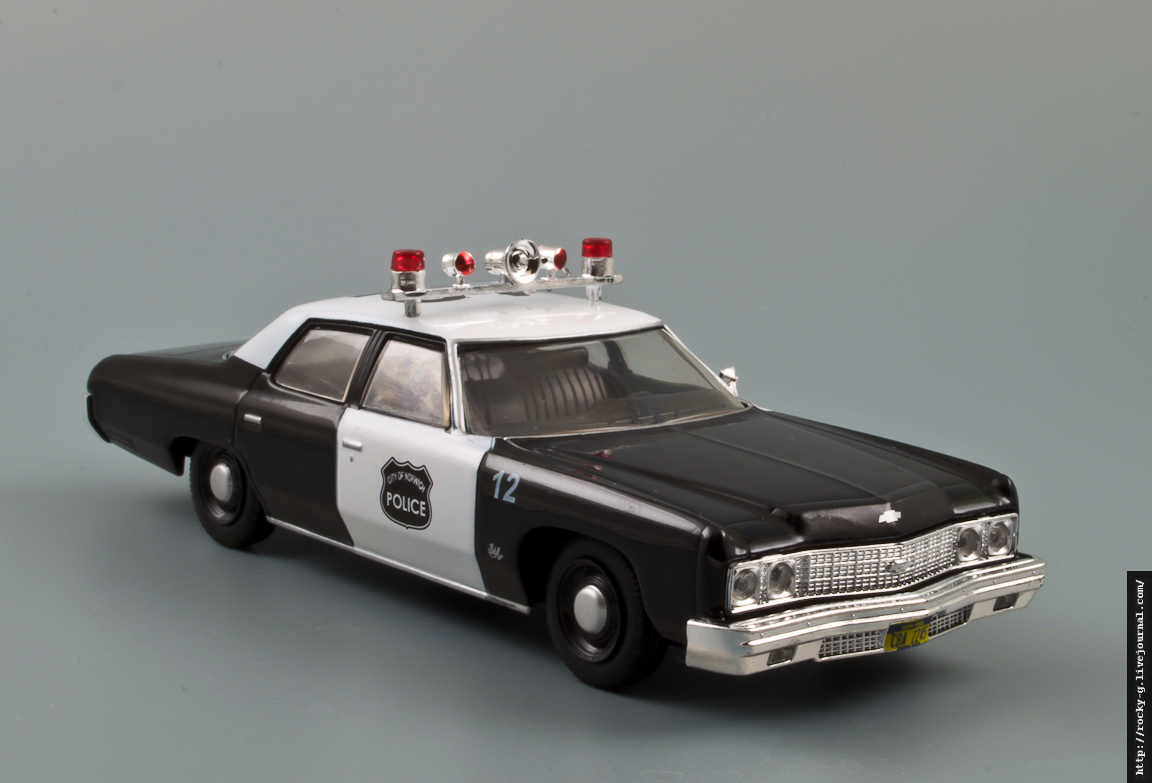 Chevrolet Bel Air Police 1974