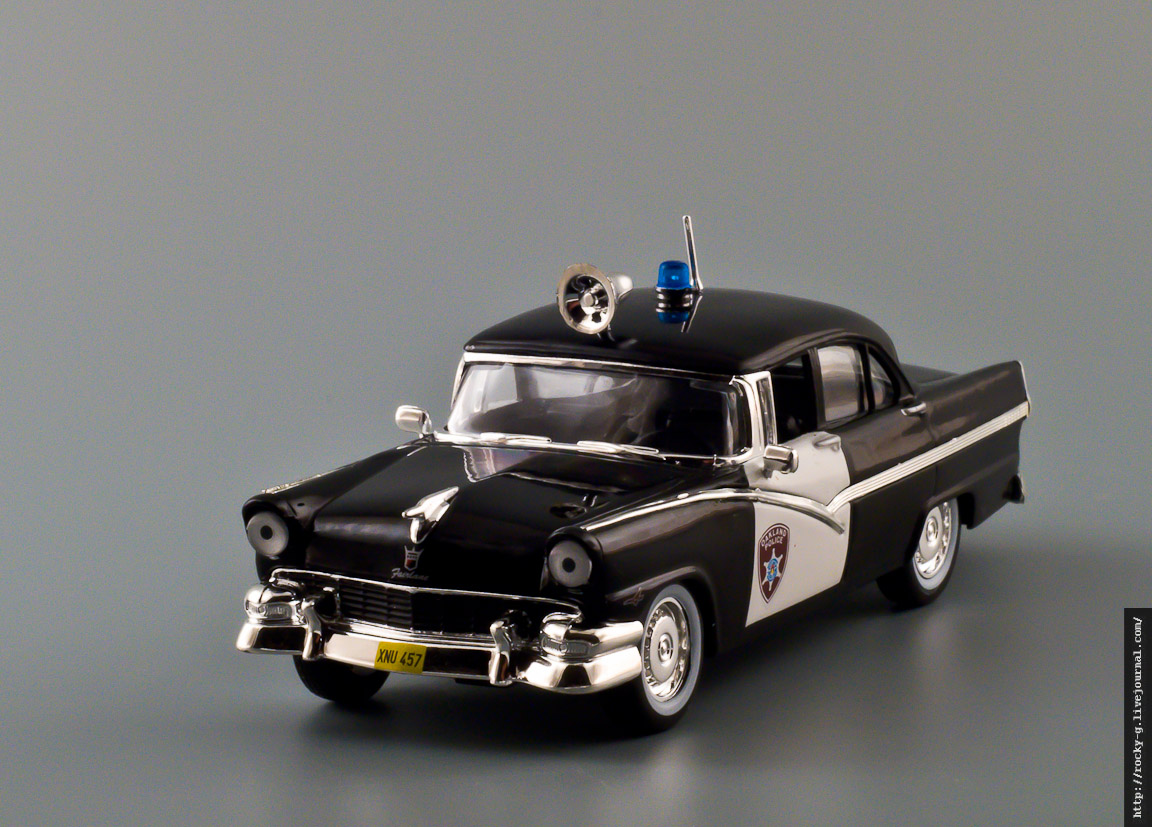 Ford Fairlane Police 1956