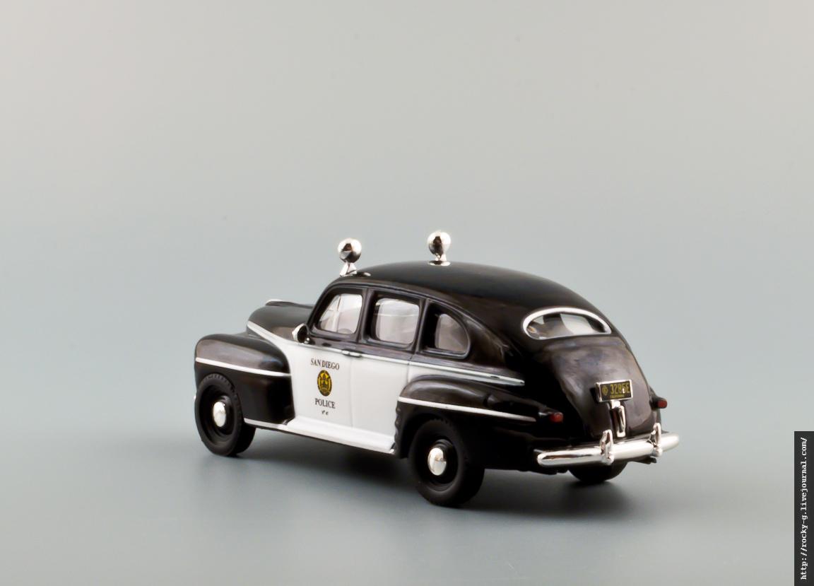 Ford Fordor San Diego Police 1947