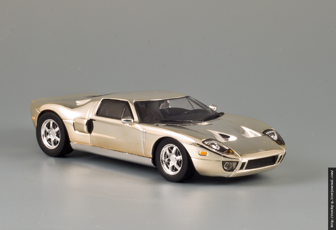 Ford GT40 Chrome