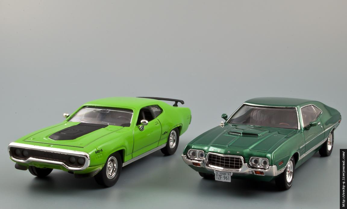 Ford Gran Torino 1972 & Plymouth GTX 1971