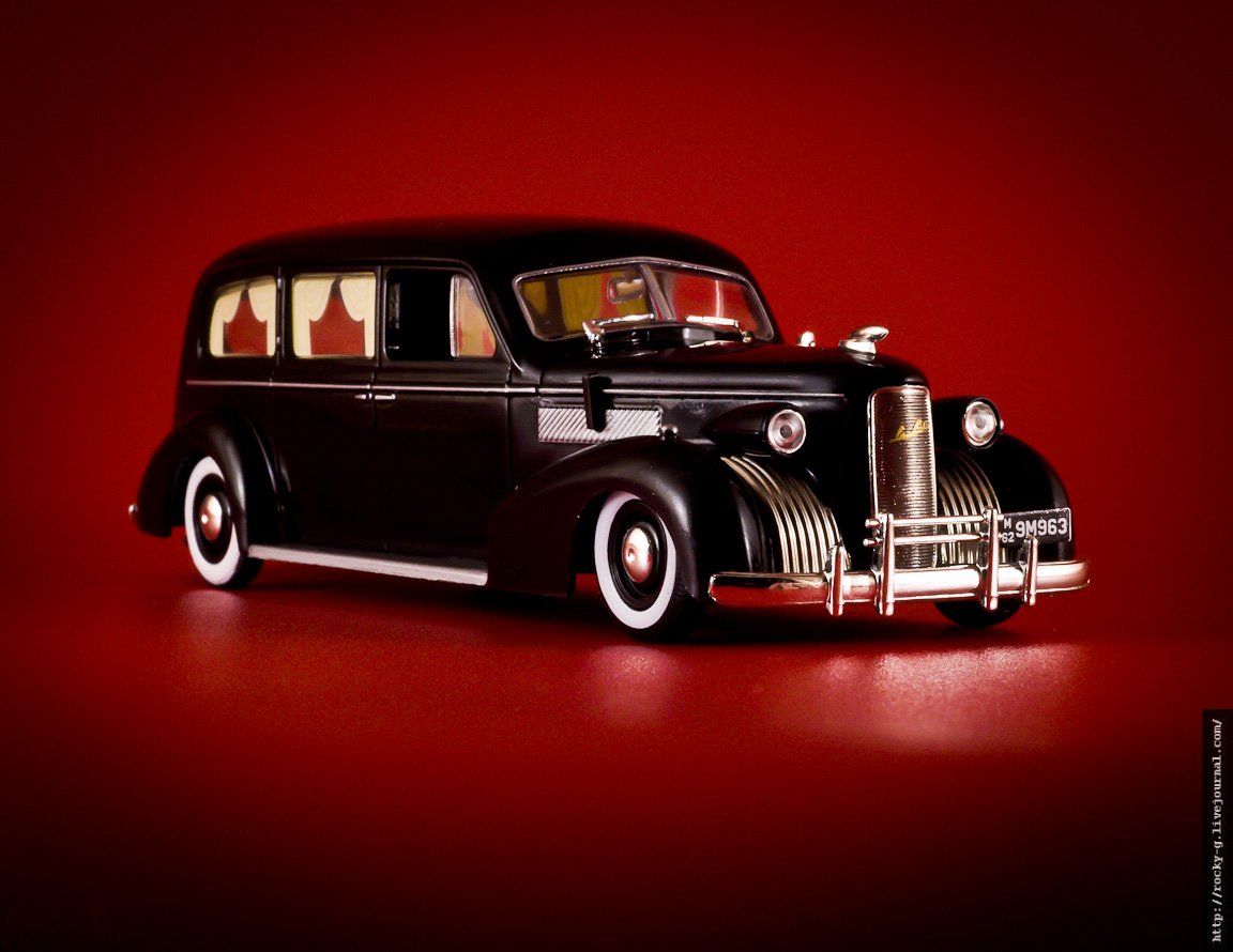 LaSalle Funeral Coach Miller Combination [Series 50] 1939