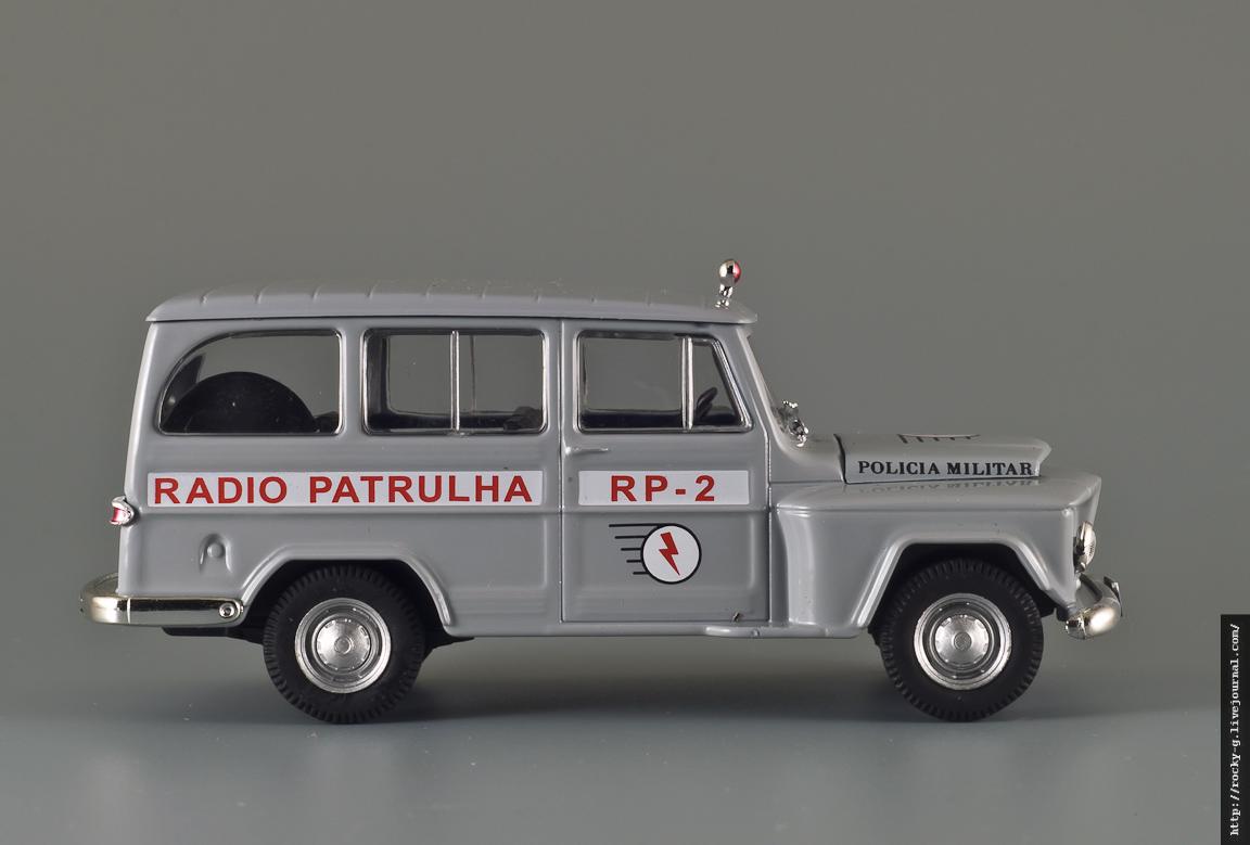 Willys Rural Wagon Policia Militar - Полиция Бразилии