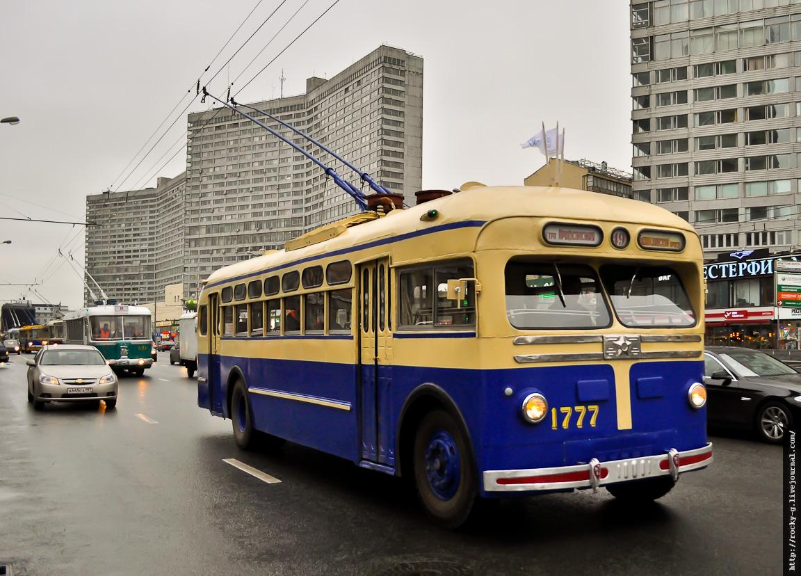 Парад к 80-летию московского троллейбуса 16.11.2013 МТБ-82Д