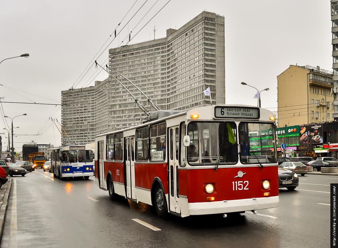 Парад к 80-летию московского троллейбуса 16.11.2013 ЗиУ-682В