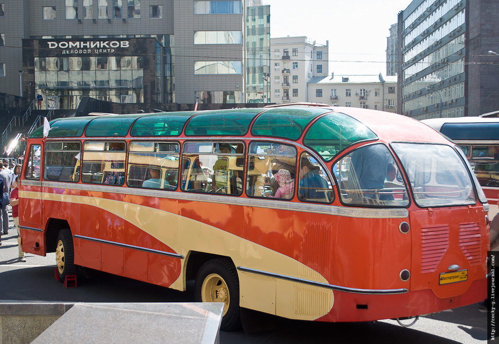 Парад автобусов 08.08.2015
