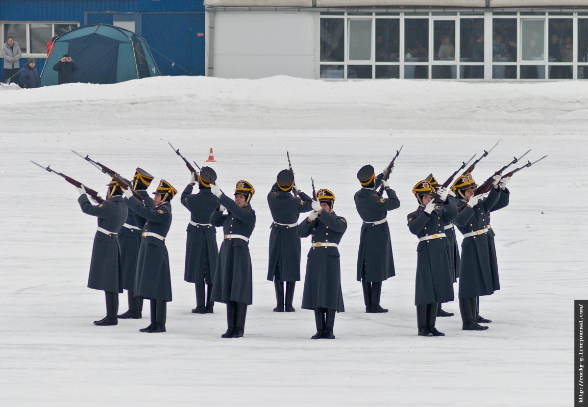 Традиционные ежегодные февральские соревнования на автодроме Гаража особого назначения (ГОН) ФСО России