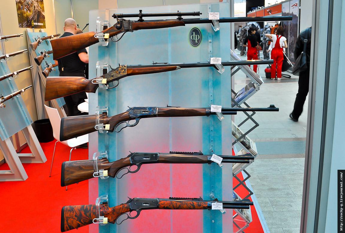 Выставка оружие и охота