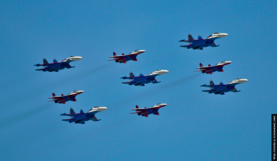 Парад 9 мая 2013. Авиация