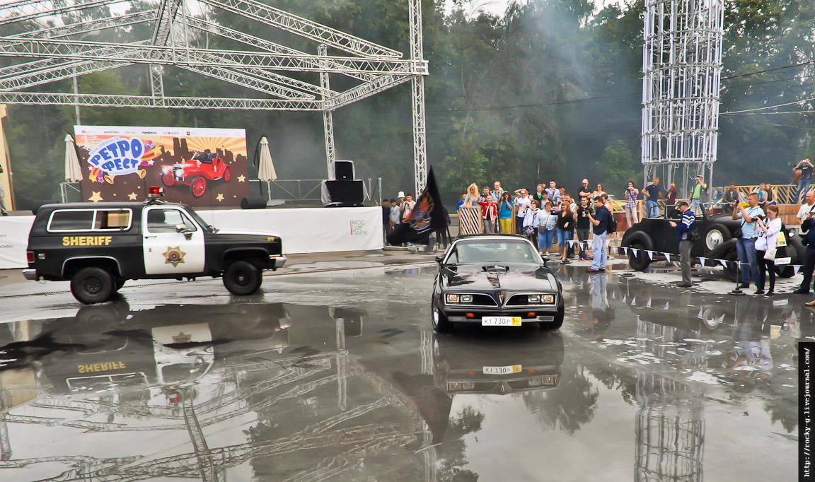 II Ретро-Фестиваль в Сокольниках