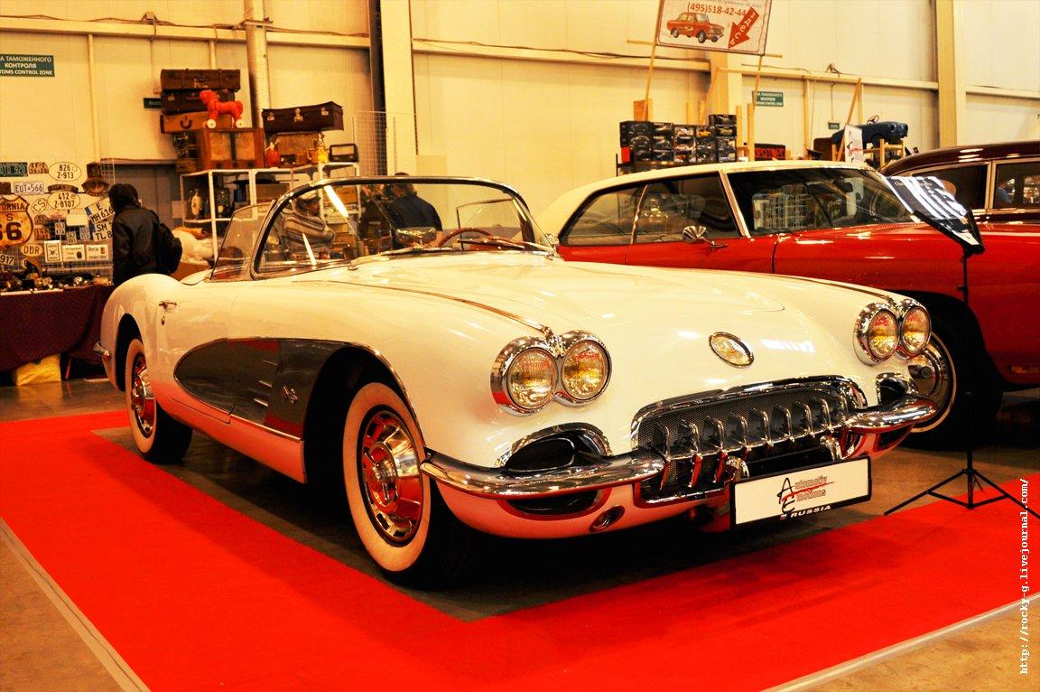 XX Олдтаймер галерея - Chevrolet Corvette