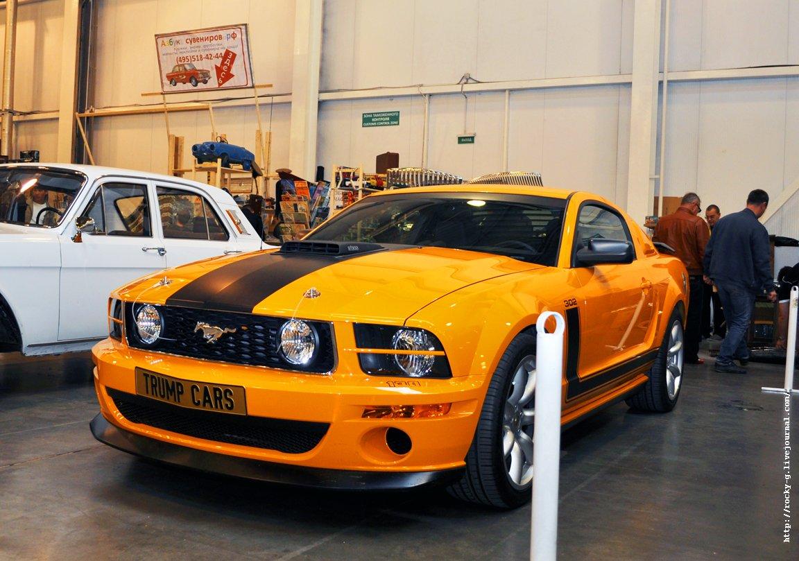XX Олдтаймер галерея - Ford Mustang