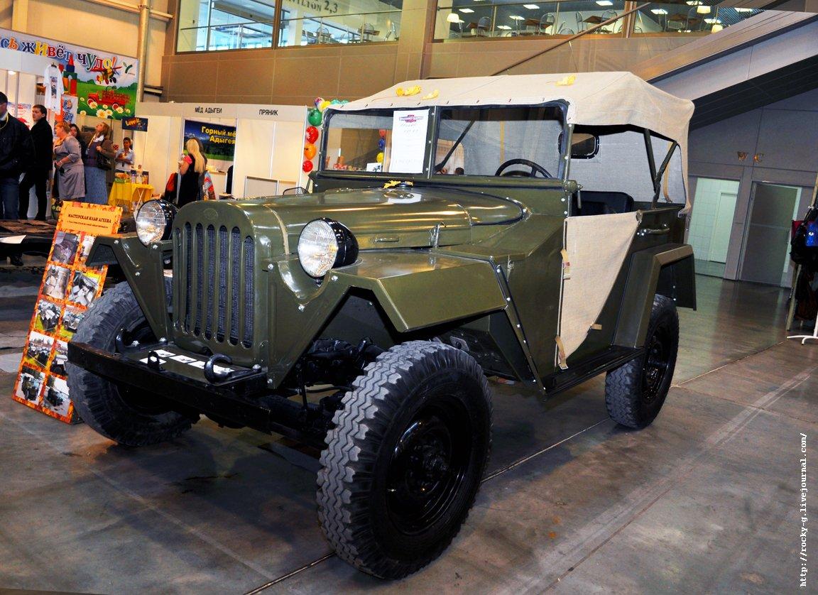 XX Олдтаймер галерея - ГАЗ - 67Б