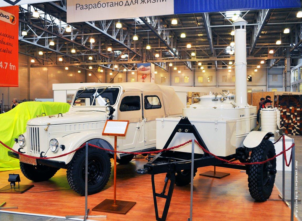 XX Олдтаймер галерея - ГАЗ - 69А