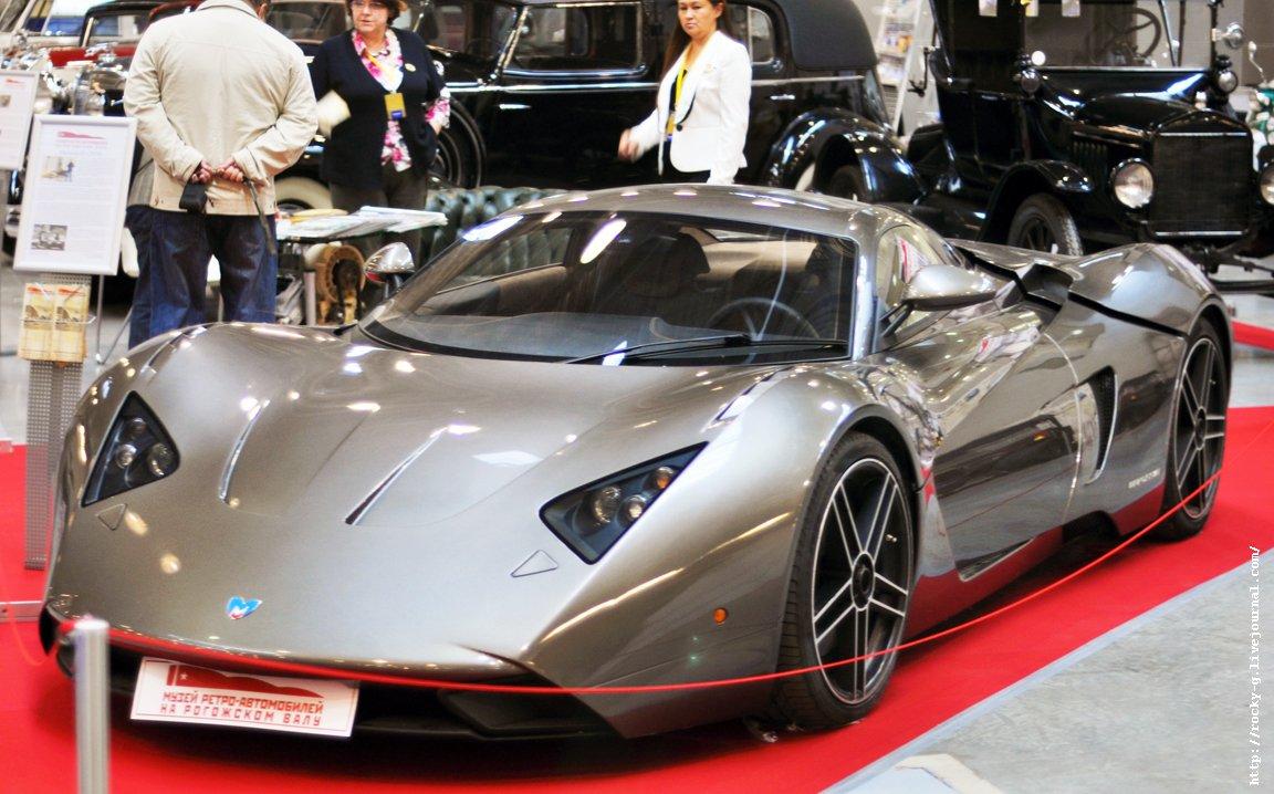 XX Олдтаймер галерея - Marussia B1