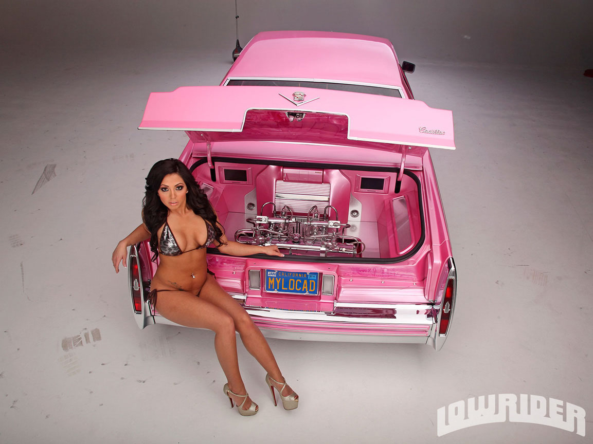 1979 Cadillac Coupe De Ville Model Stephanie Glam Cervantes 03