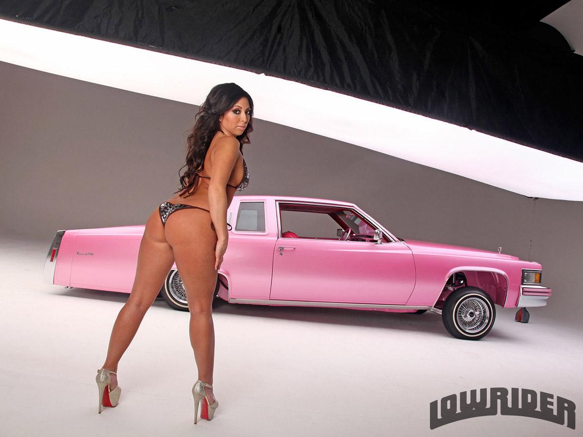 1979 Cadillac Coupe De Ville Model Stephanie Glam Cervantes 08