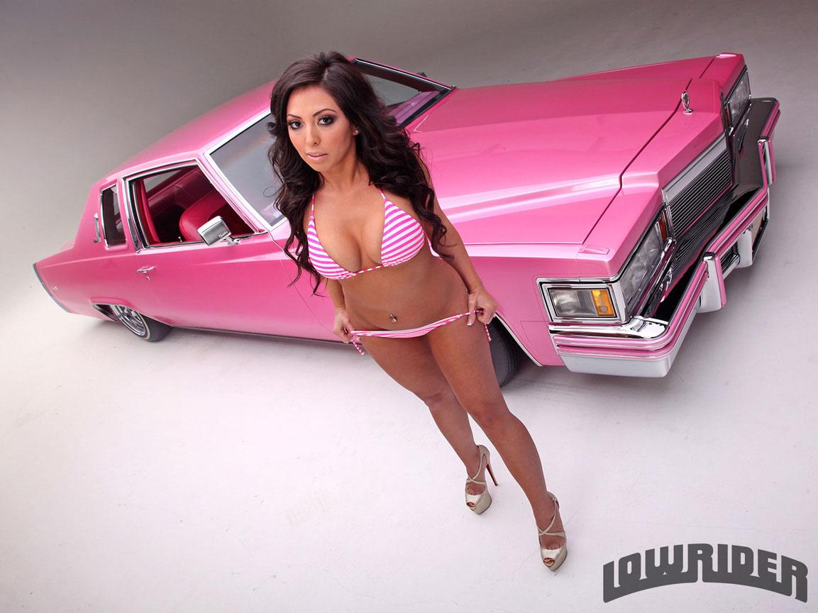 1979 Cadillac Coupe De Ville Model Stephanie Glam Cervantes 11