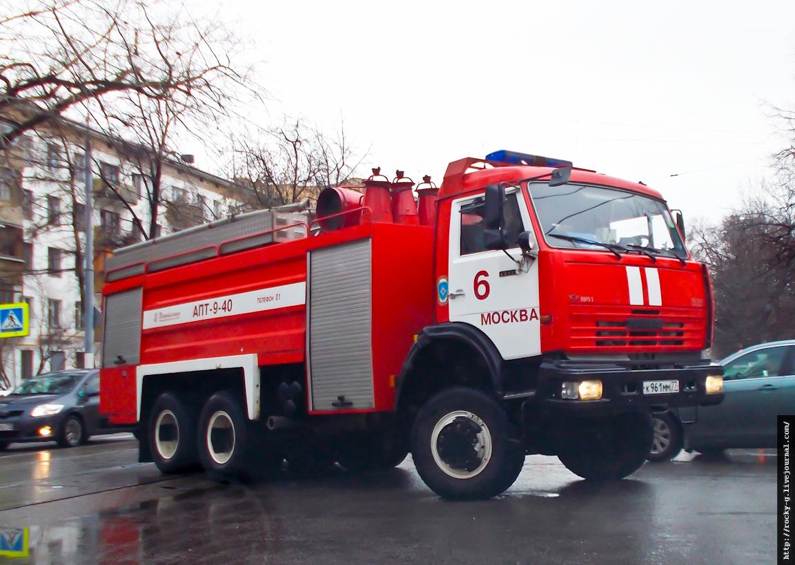 Пожарный КАМАЗ-65111